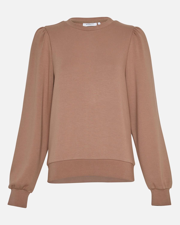 MSCH Ima puff sweatshirt, brun