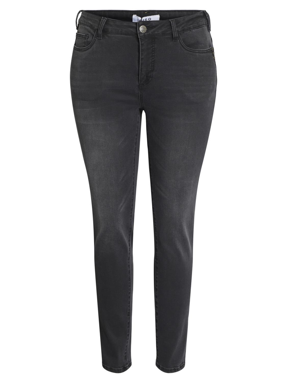 Ciso Denim jeans, sort, slim fit