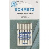 SCHMETZ MICROTEXNÅL 90/14 5-pack 130/705 H-M  LILA FARGE