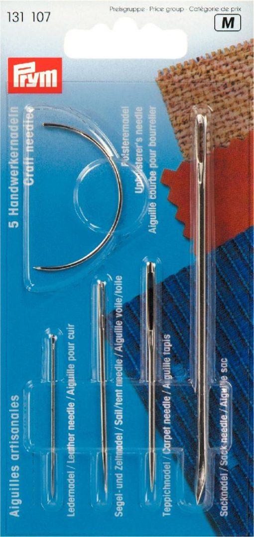 131 107 - PRYM - Blanding av håndverksnåler 5 stk