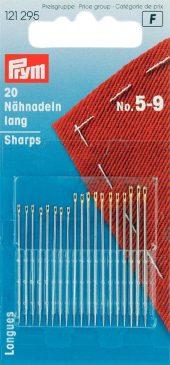 121 295 - PRYM - Håndsynåler sharps blandet no. 5-9 - 20st
