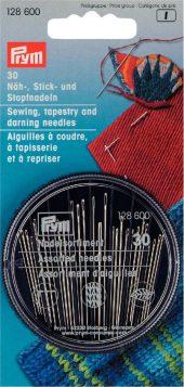 128 600 - PRYM - Håndsøm/billedvev/sømm nåler HT Compact
