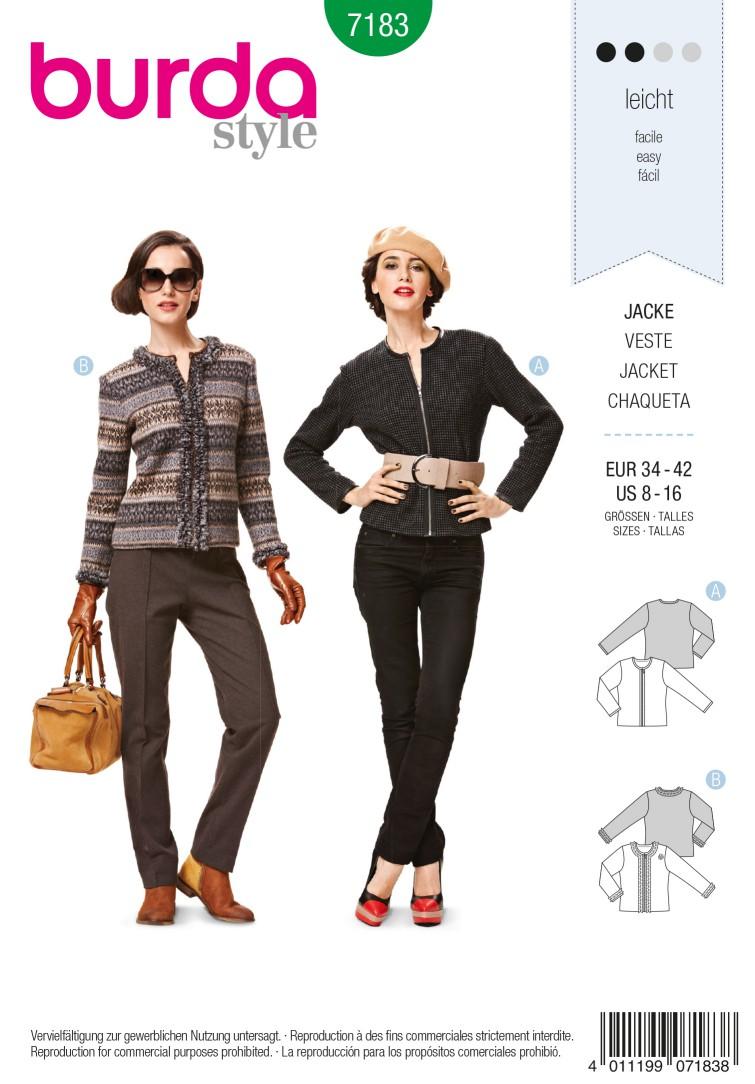 Burda Style B7183 Dress &Blouse Sewing Pattern
