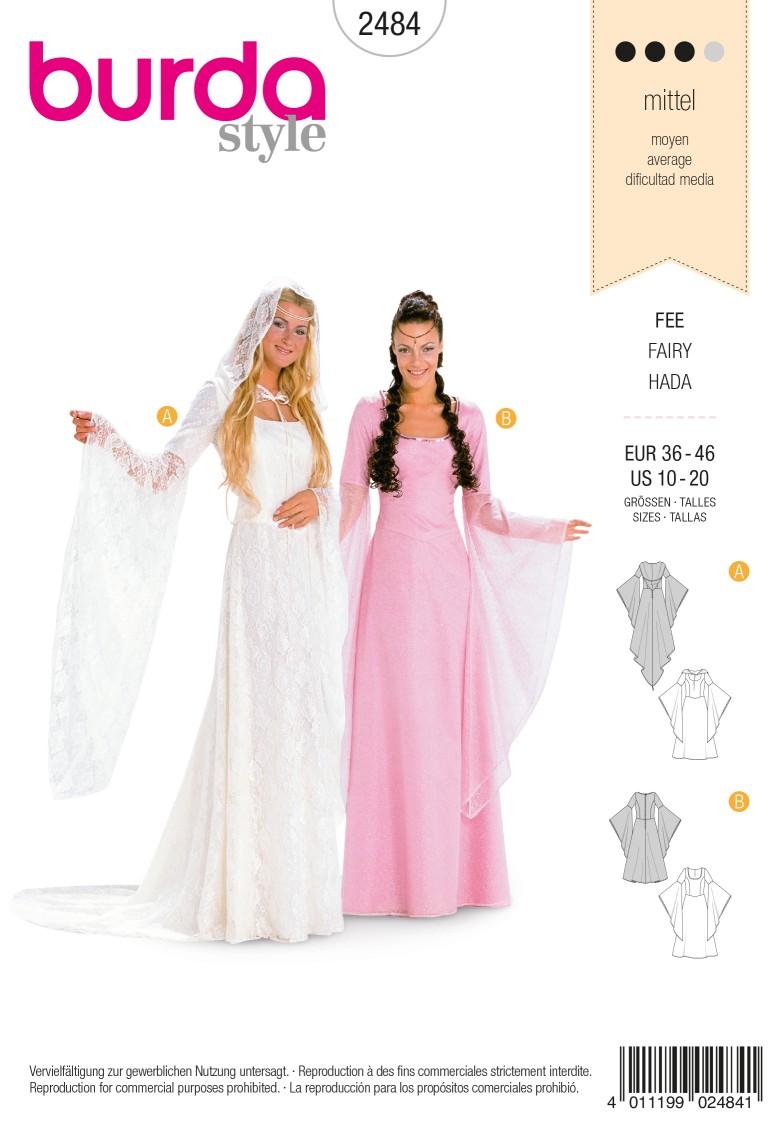 Burda Style B2484 Fairy Costume Sewing Pattern
