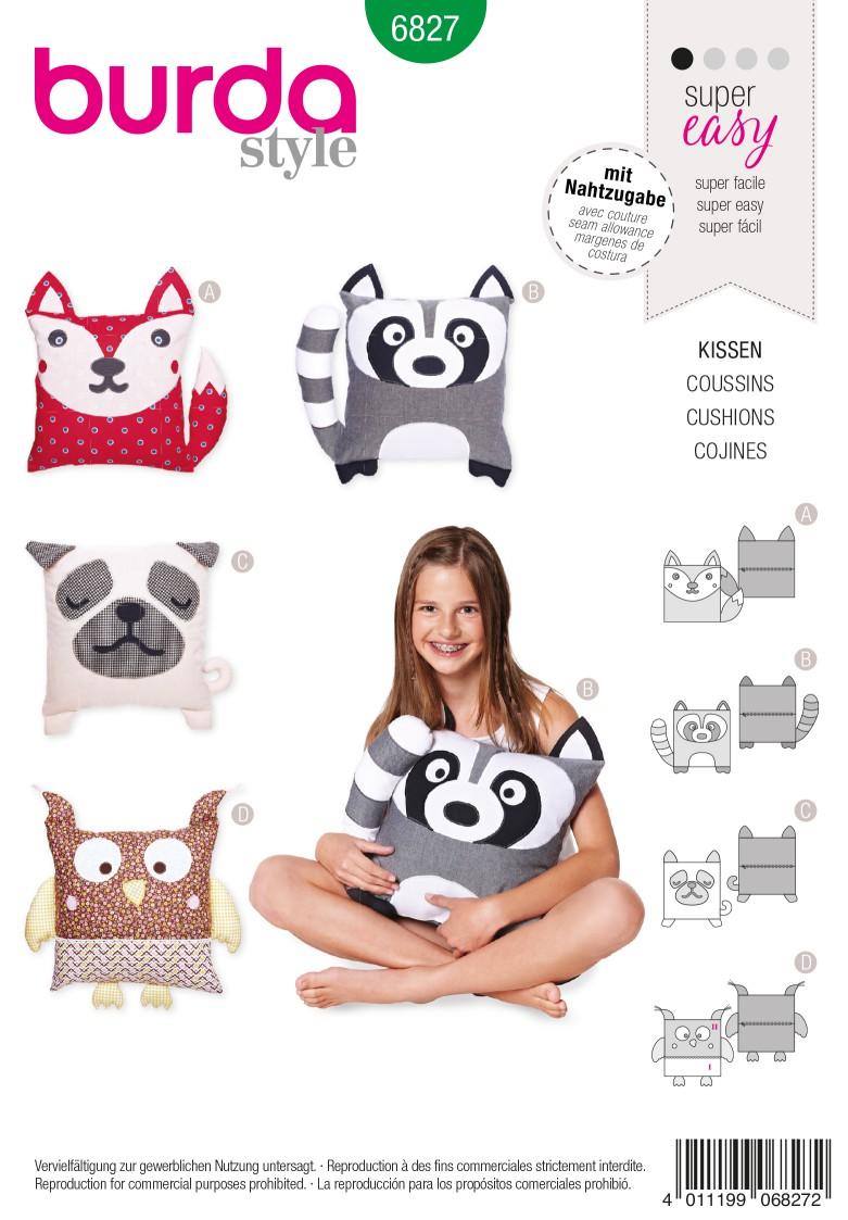 Burda B6827 Creative Sewing Pattern
