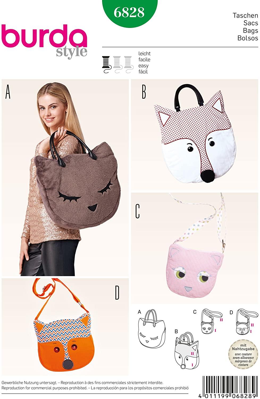 Burda B6828 Creative Sewing Pattern