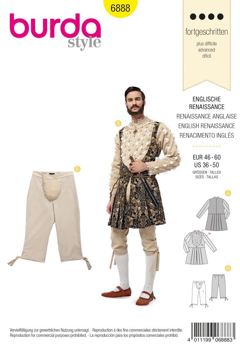 Burda Style B6888 Historical Sewing Pattern