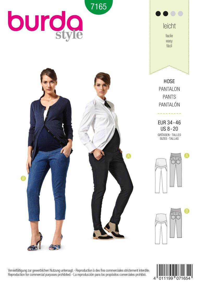 Burda B7165 Burda Style Trousers