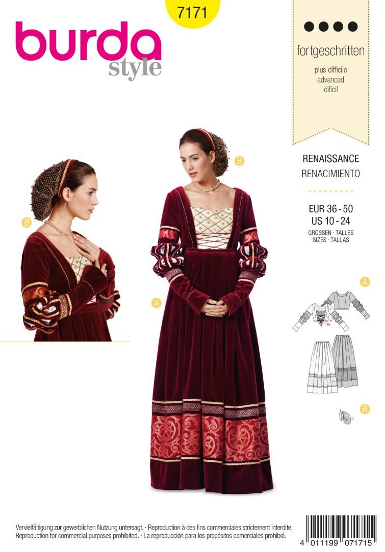 Burda Style B7171 Dress Sewing Pattern