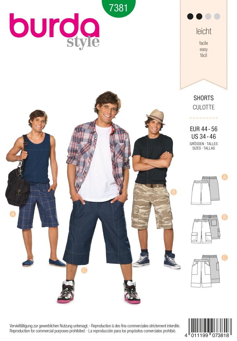 Burda B7381 Burda Style, Shorts