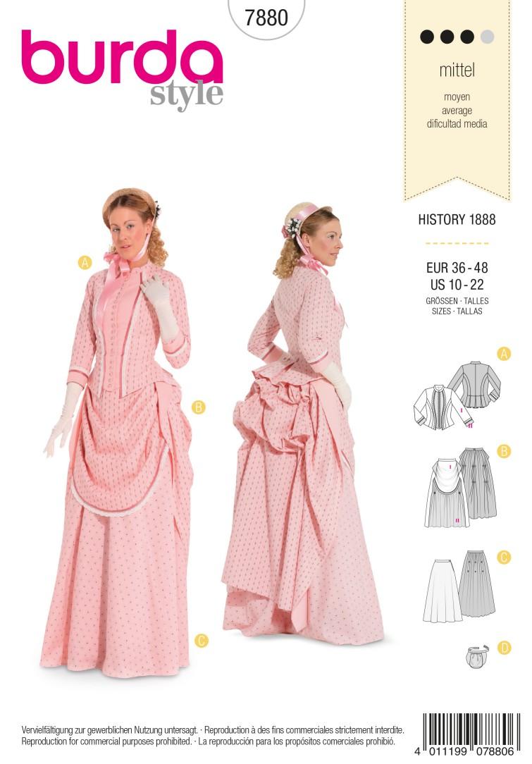Burda B7880 Burda Style, History 1888