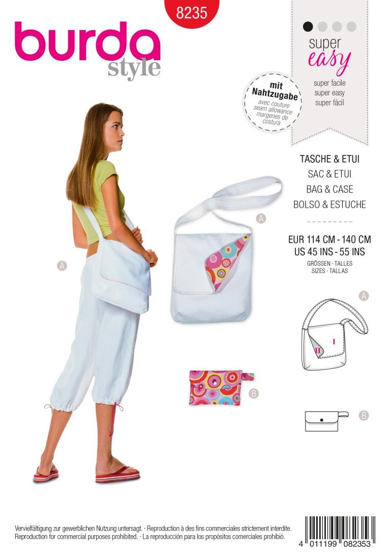 Burda B8235 Bag & Case Sewing Pattern