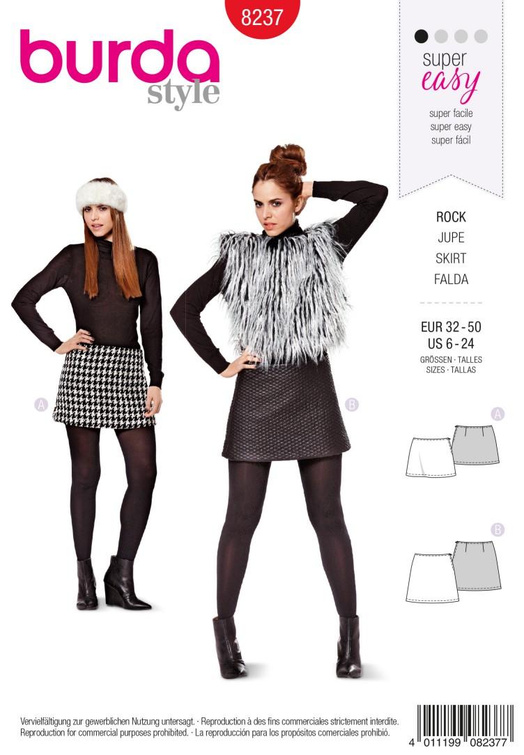Burda B8237 Skirt Sewing Pattern