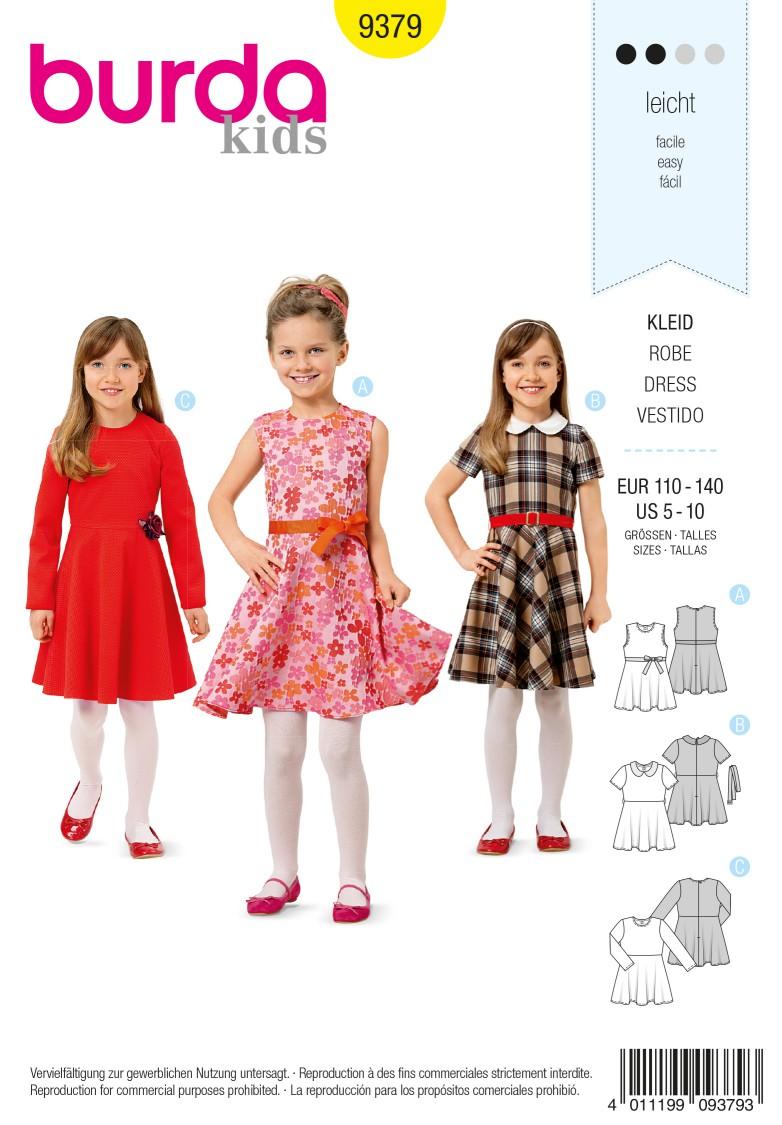 Burda Style Pattern 9379 Dress