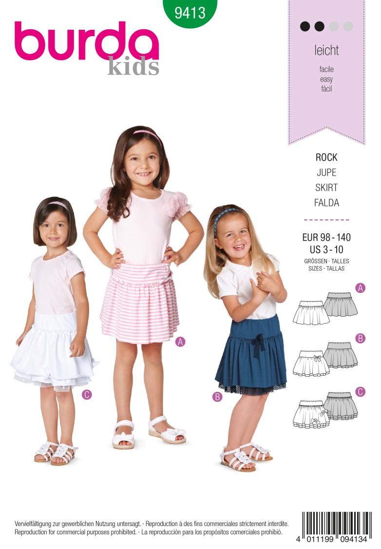 Burda B9413 Toddlers Sewing Pattern