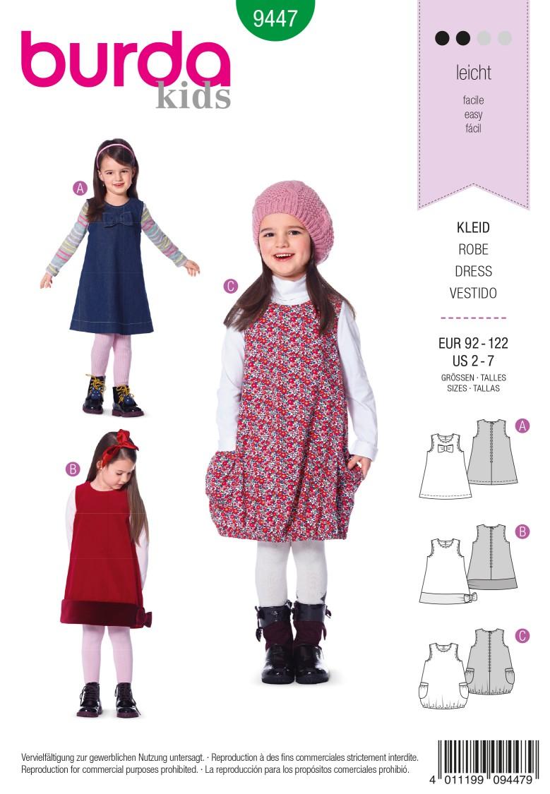 Burda B9447 Burda Style Dress Sewing Pattern