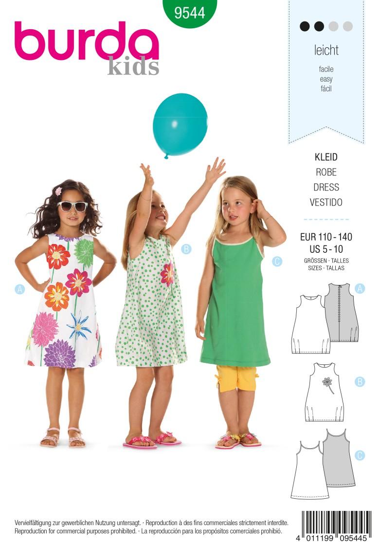 Burda B9544 Dress Sewing Pattern