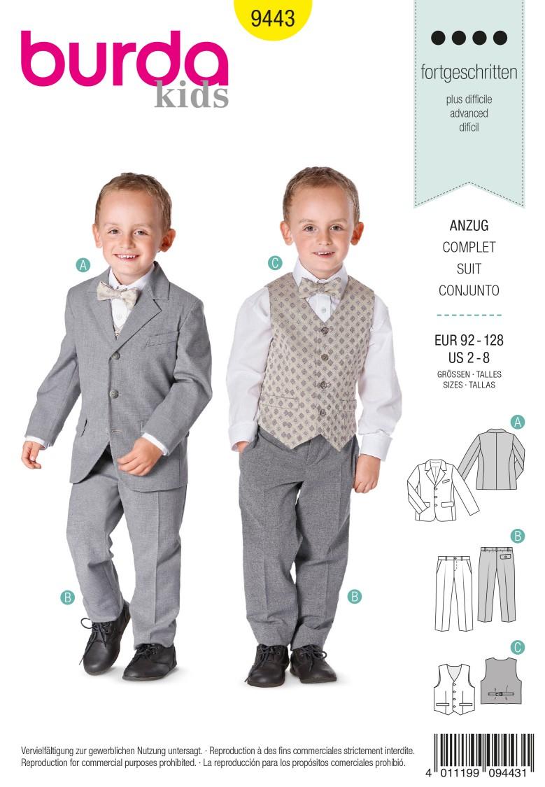 Burda B9443 Burda Style Evening Wear Sewing Pattern