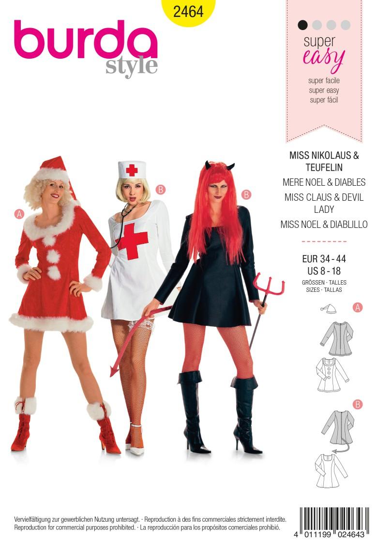 Burda 2464 Miss Nicolaus, Devil