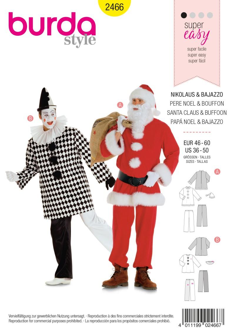 Burda 2466 Nikolaus, Bajazzo
