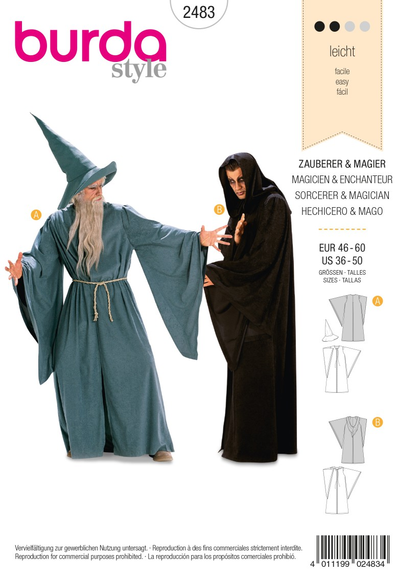 Burda 2483 Magician