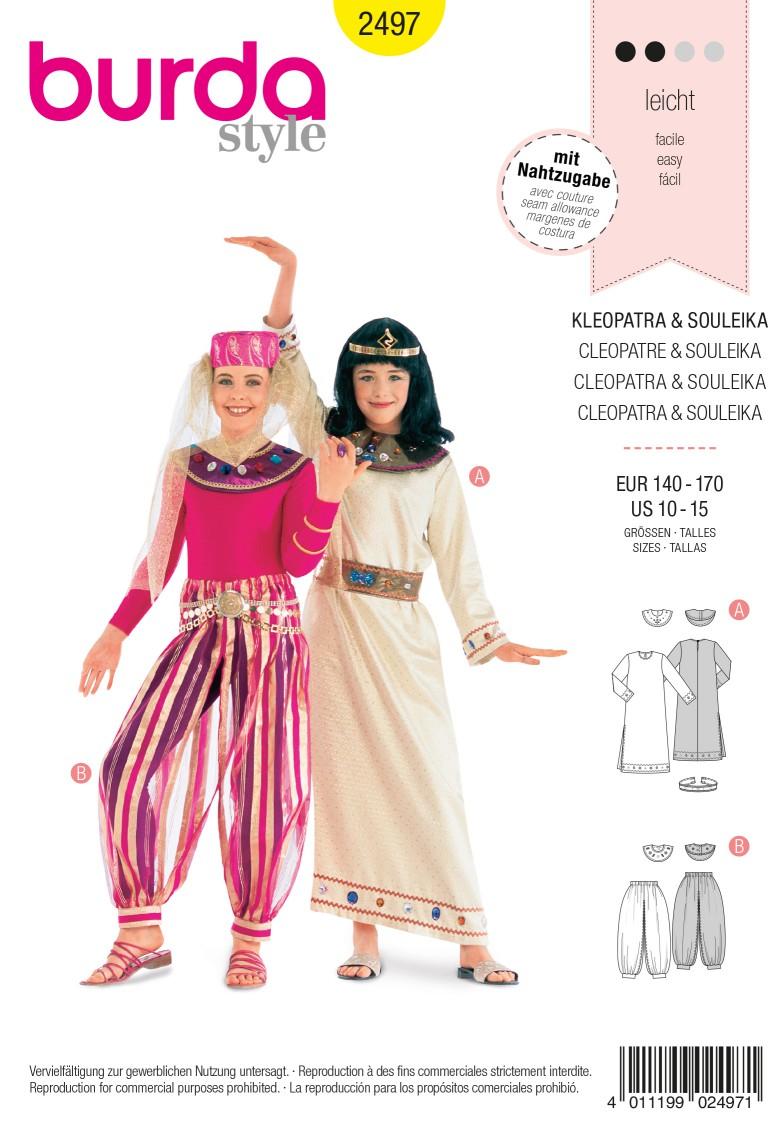 Burda 2497 Cleopatra, Souleika