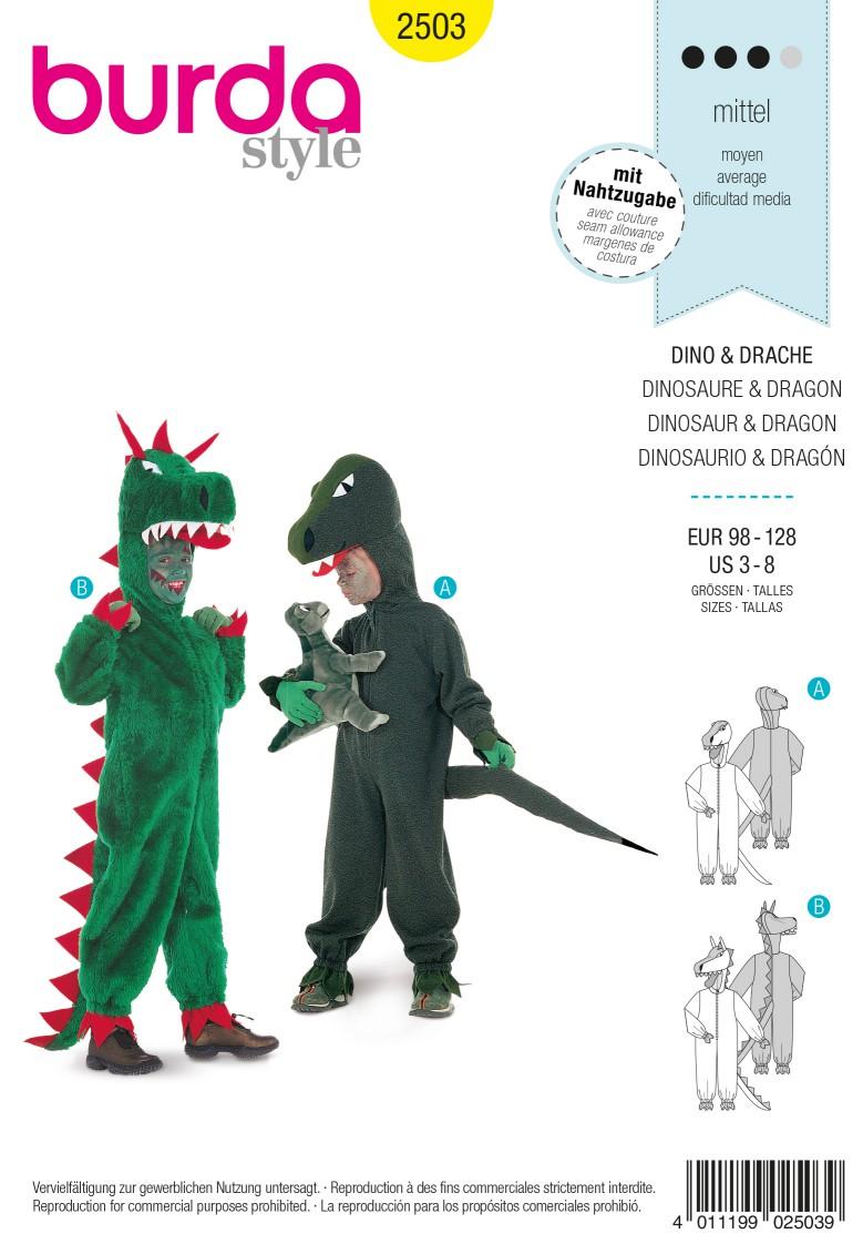 Burda 2503 Dinosaur & Dragon