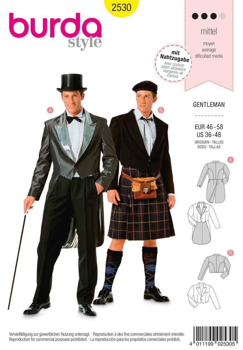 Burda 2530 Gentleman