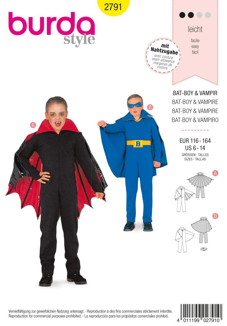Burda 2791 Vampire & Bat-Boy
