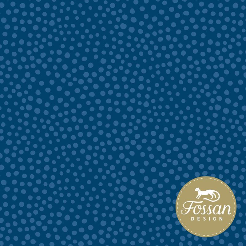 Jersey  Stone Dots Blue