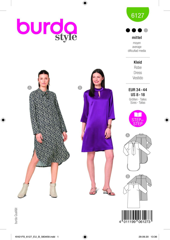 Burda 6127 Dress