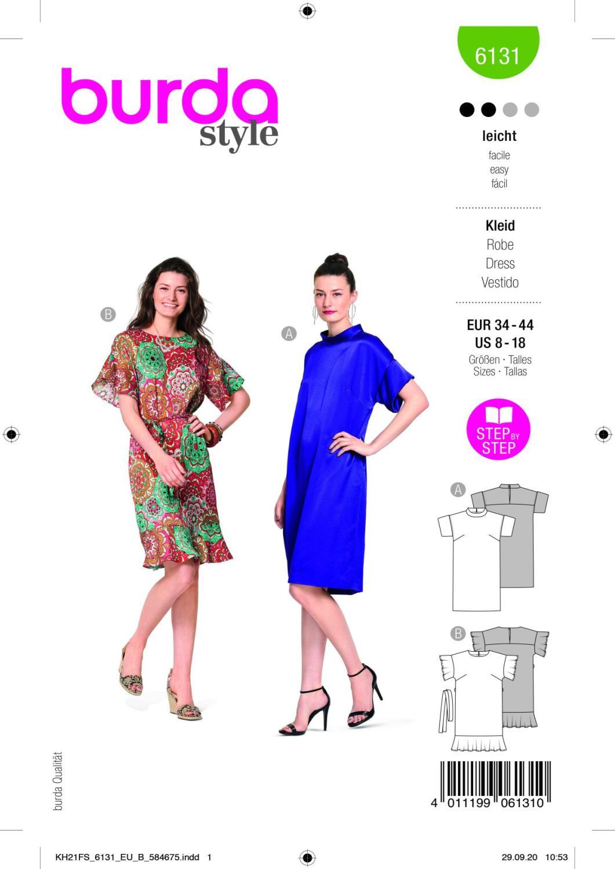 Burda 6131 Dress