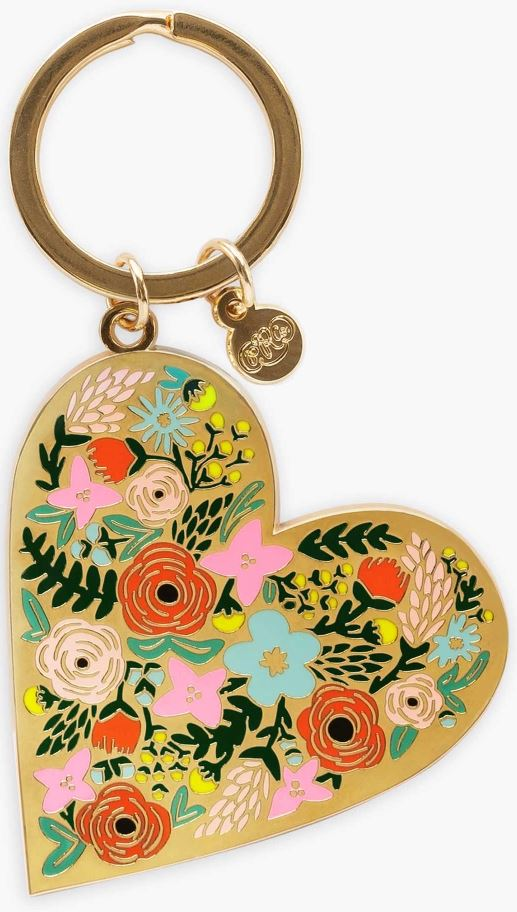 RIFLE PAPER CO - Wear Your Heart On Your Keys