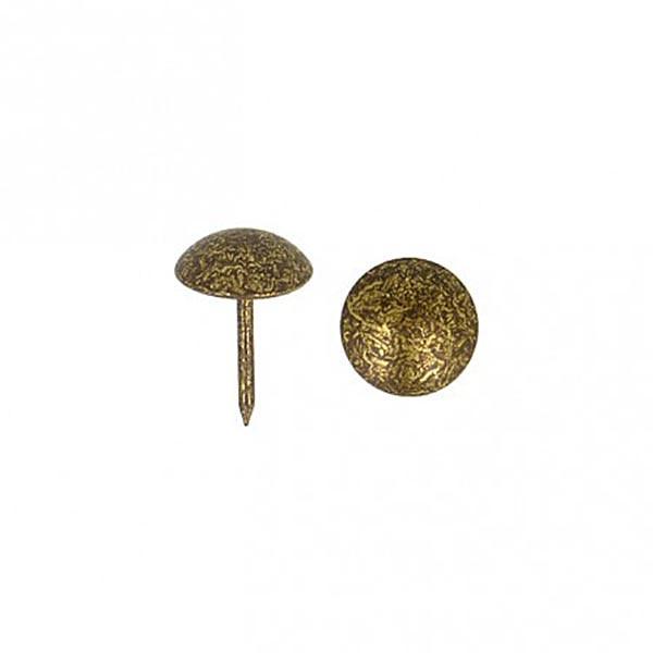 Møbelspiker - Dekorstift - 50 stk antikk