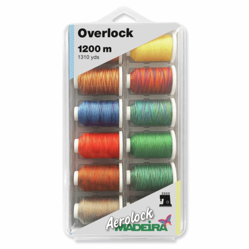 MADEIRA BLISTERBOX AEROLOCK NO.125 12X1200M - Multifarger