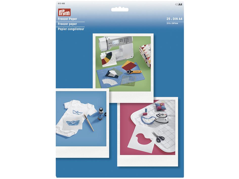 Prym Freezer paper DIN A4 25 sheets