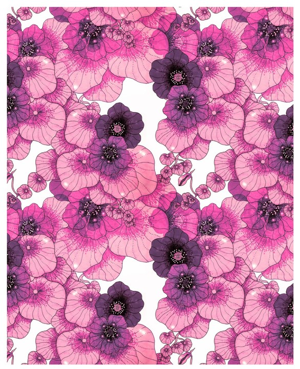 ZNOK Design - KRASSE pink/purple/white