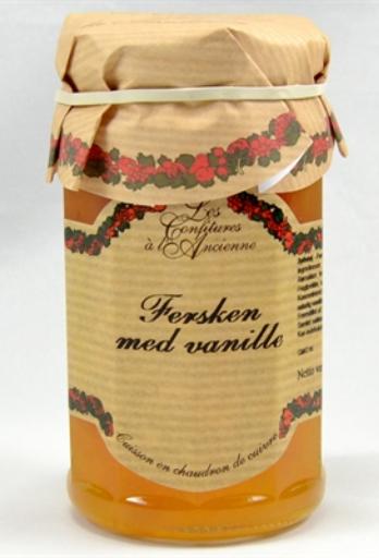 Ferseken med vanilje syltetøy