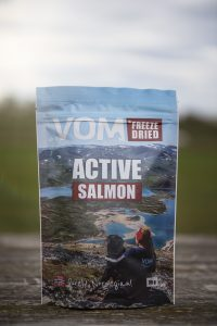 VOM Freeze Dried ACTIVE med Laks 400g