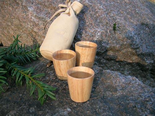 Eagle Products  Tre drammeglass i skinnpose