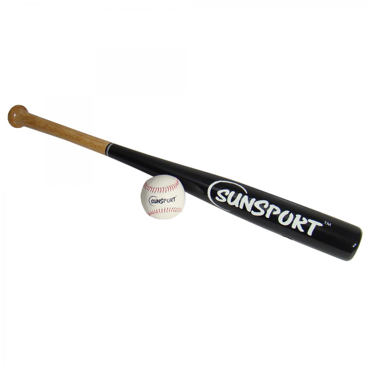"""SunSport  Baseballsett 28"""" i tre + ball"""