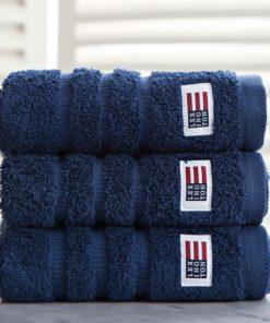 Lexington håndkle, navy 30x50