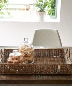 RM diamond weave serving tray, stor