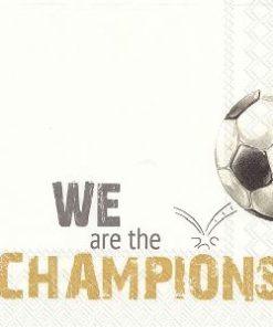 Lunsjserviett - we are the champions