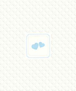 Lunsjserviett - blue hearts