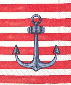 Lunsjserviett - sailors anchor