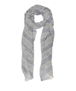 Favor scarf, blue