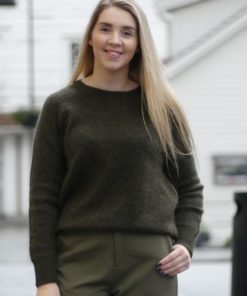Claudia sweater, army