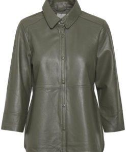 KAbasma Leather Shirt