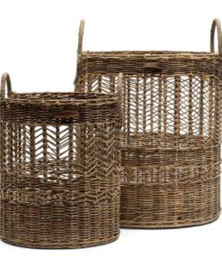 Riviera Maison Copenhagen basket set of 2 pcs
